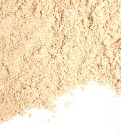 white sand: great sand isolated on white background Stock Photo