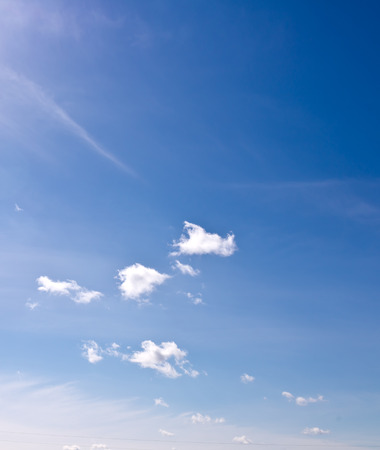 nimbi: blue sky with clouds