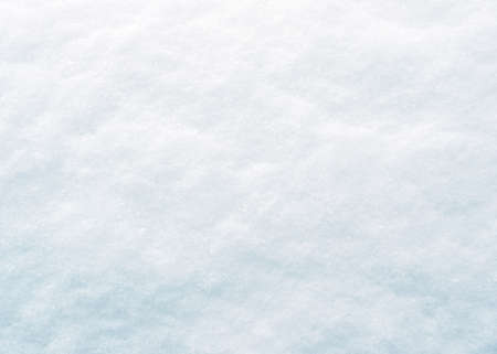 blue christmas background: fresh snow texture Stock Photo