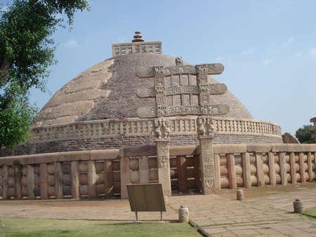 sanchi stupa: TRAVEL Stock Photo
