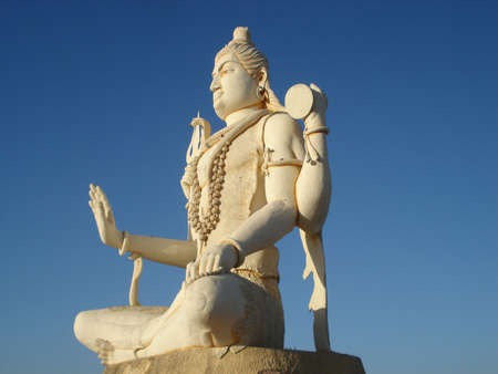 hindu god shiva: HINDU GOD SHIVA Stock Photo
