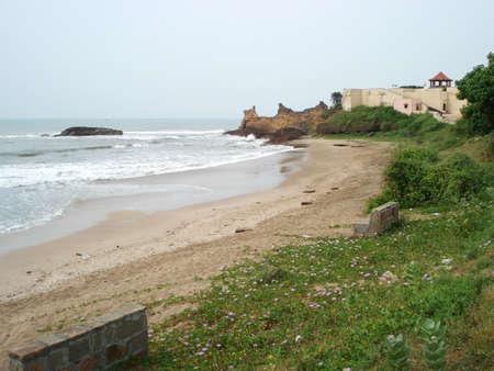 Diu beach Stock Photo