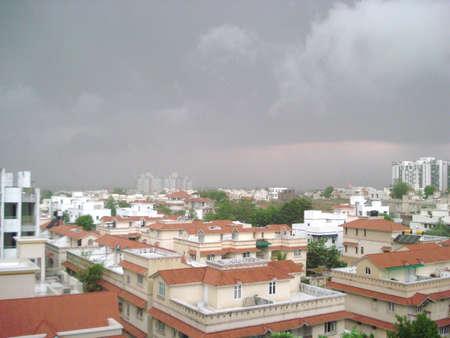 Indian Monsoon Stock Photo