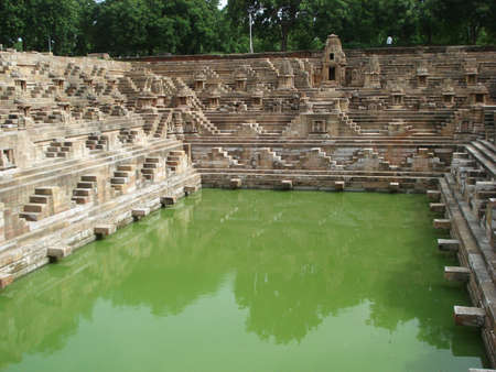 step well: Sun Temple, Modhera
