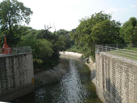Water canal at Vasna, Ahmedabad.