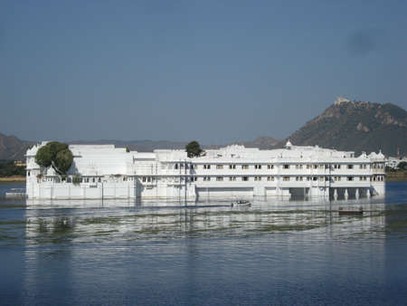 A view of lake Palace Udaipur
