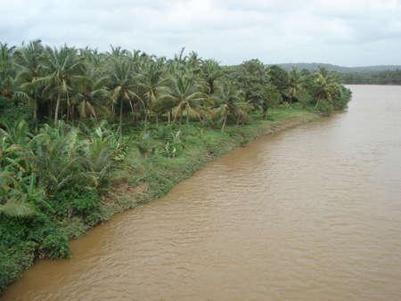 A river in spate