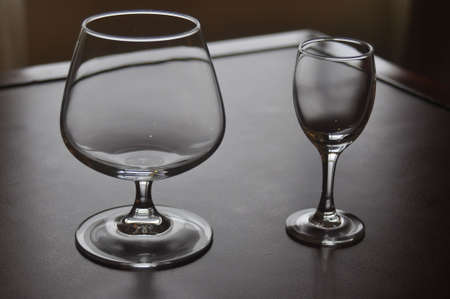 A couple of wine glasses