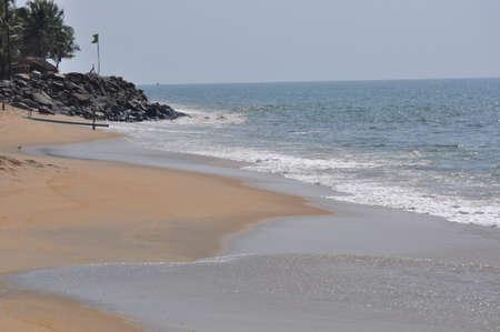 An unspoilt beach