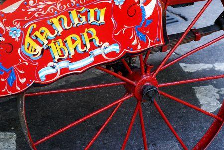 bogie: Tango Bar Antique Trolley