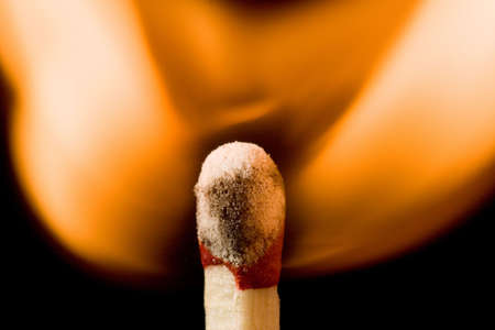 combust: Igniting match head