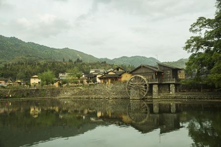 ballad: Village scenery at Fujian, Zhangzhou