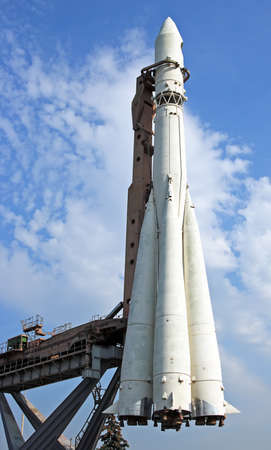 yuri: Monument of the First Russian space rocket