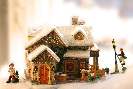 dickens: Little christmas house