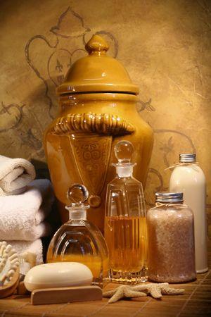 Bath essentials for spa therapy