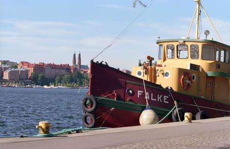tugboat: Old tugboat