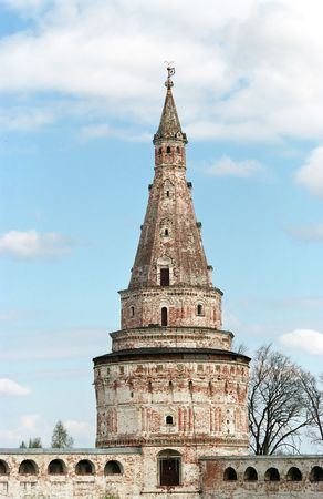 sonorous: Josephs monastery. The highest tower of a monastery - 64 m. Stock Photo