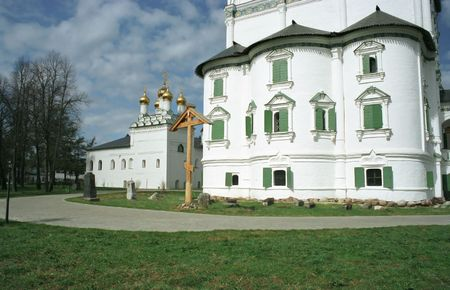monasticism: Josephs monastery, Moscow suburbs. Stock Photo