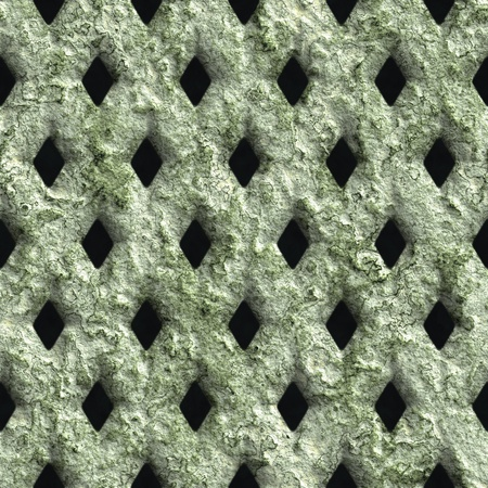 Corroded square vent - seamless background Stock Photo - 20813142