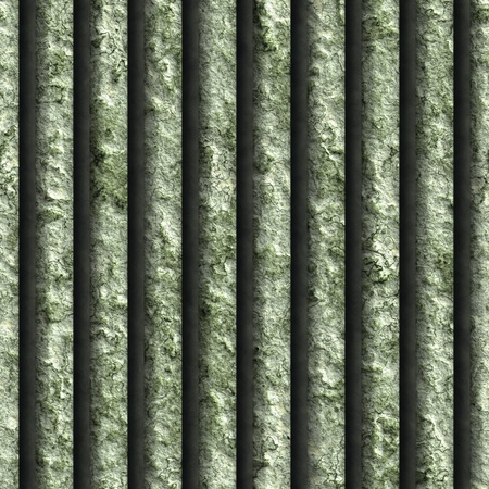 Corroded square vent - seamless background Stock Photo - 20813538