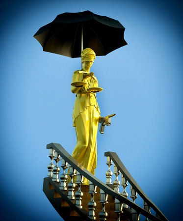 Steps to justice - Lady of Justice photo