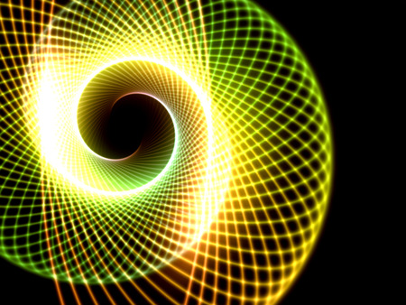 Spiral technology background template photo