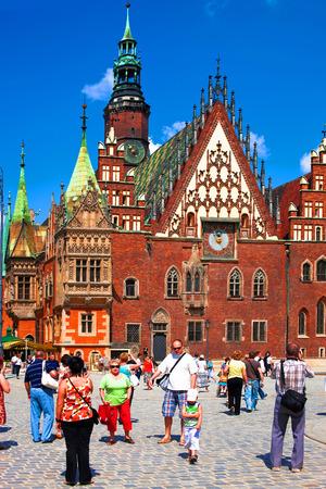 dolnoslaskie: European city, Rynek in Wroclaw, Poland