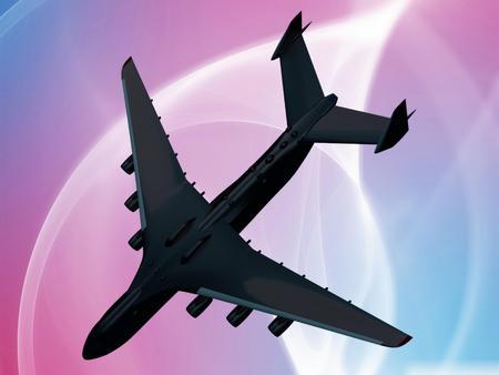 Airplane crash photo