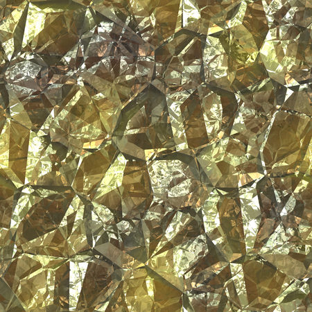 iron ore: Pure gold foil