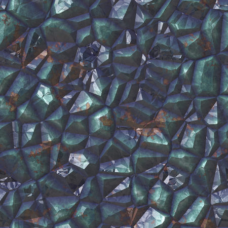 Dark precious mineral close up Stock Photo
