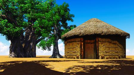 African village photo