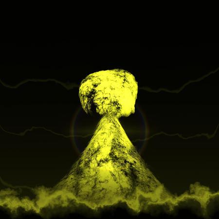 Nuclear mushroom photo