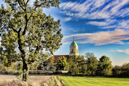 Church in Polish village photo