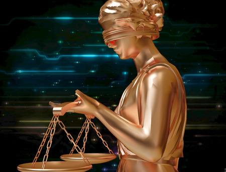 estatua de la justicia: Señora de justicia
