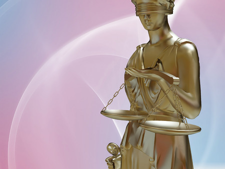 woman on scale: Lady of justice