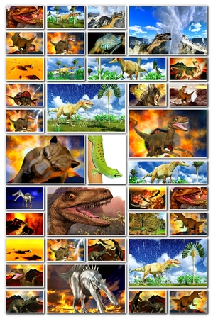 doomsday: Doomsday in the world of dinosaurs