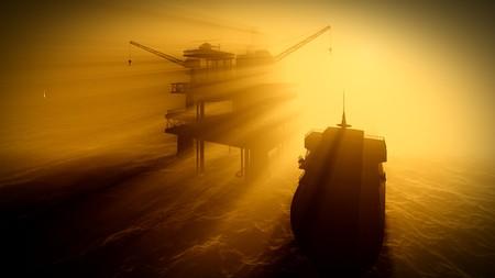 oil platform: Oil rig  platform