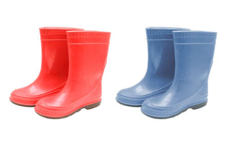 reminisce: Kid's rubber boots Stock Photo