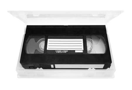 vhs videotape: Video tape in case