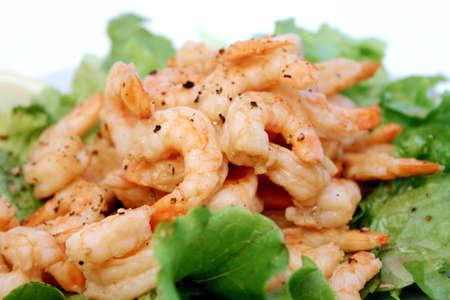 feasting: Shrimp Dish
