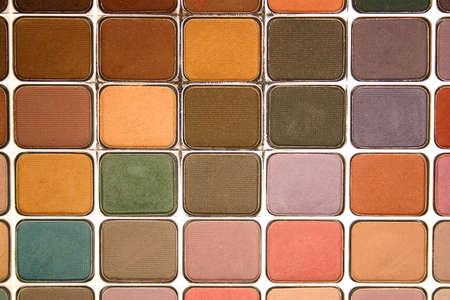 Eyeshadow Palette - multicolor Stock Photo