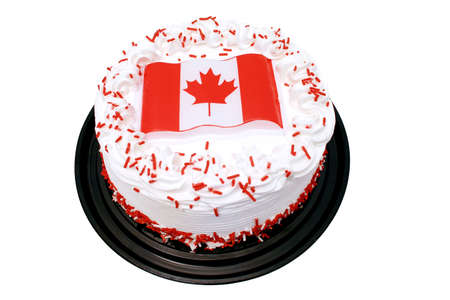 canada day: Canada day cake