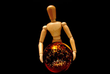 psychic: Psychic mannequin Stock Photo