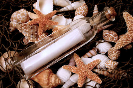 Message in a bottle photo