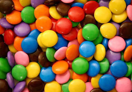 confectionary:  chocolate candies (closer version)
