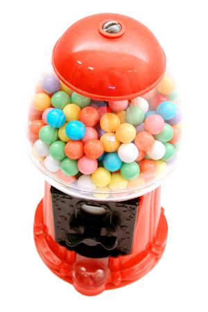 gumballs: Bubble gum machine