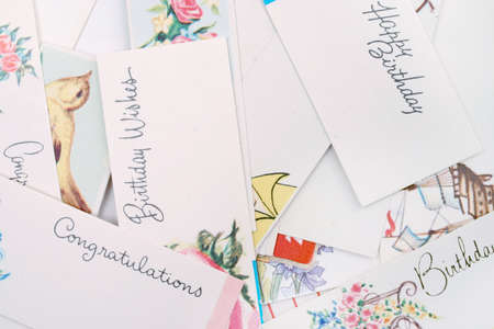 personalize: Assorted gift tags
