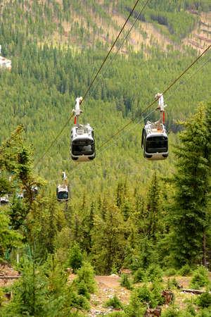 sulphur: Gondolas in the Rocky Mountains (Banff, Alberta)