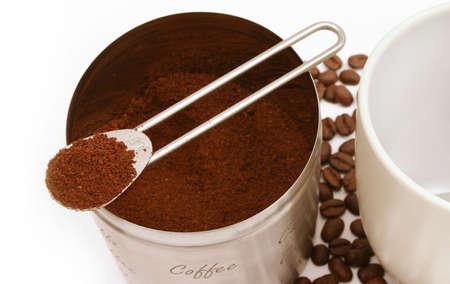 Preparing fresh coffee Stock Photo