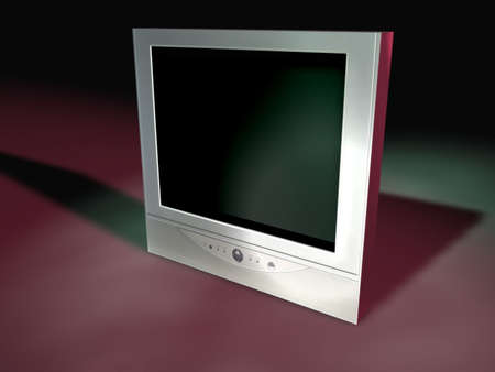 flatscreen:  A flatscreen tv I created in Cinema 4D